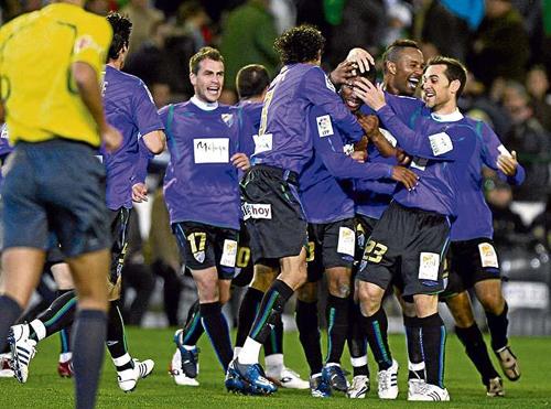 Málaga contra Betis