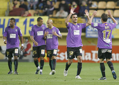 Málaga gana a Villarreal