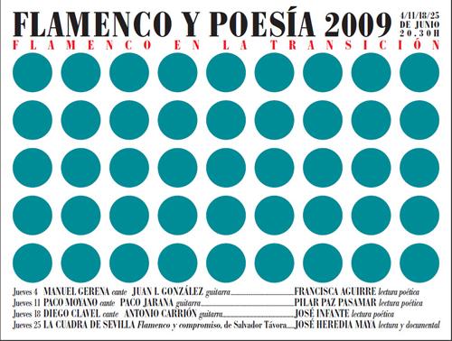 Flamenco y Poesía 2009