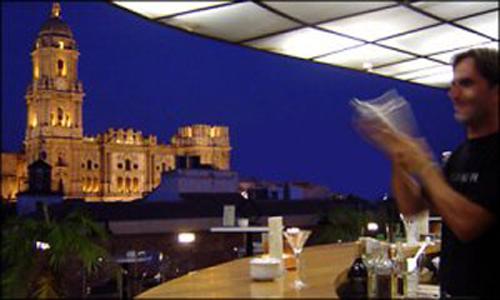 Terraza del Hotel Larios