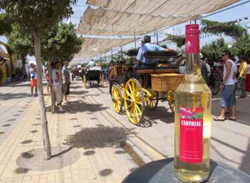 El Cartojal y la Feria de Málaga