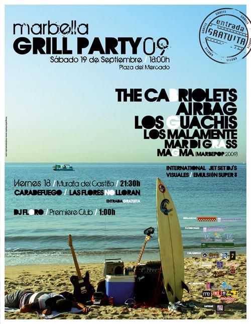 Marbella Grill Party 2009