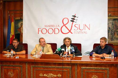 Presentación del Food & Sun Festival