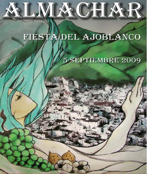 iFiesta del Ajoblanco en Almáchar 2009