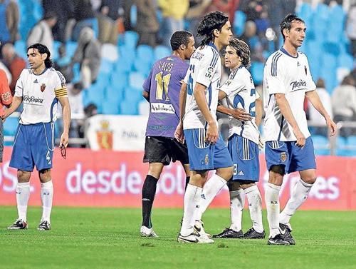 Málaga y Zaragoza empataron a uno