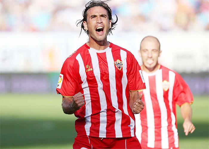 Cisma marcó el primer gol del Almeria