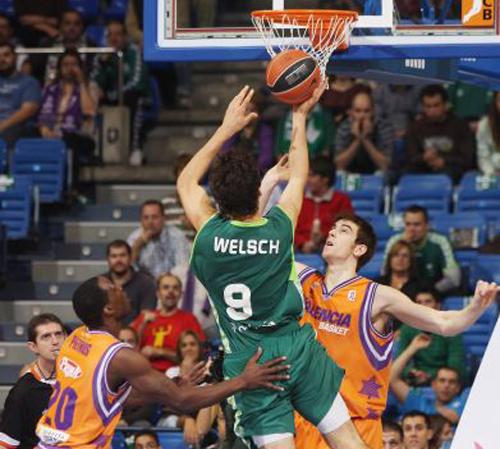 Welsch fue de los destacados en la victoria de Unicaja