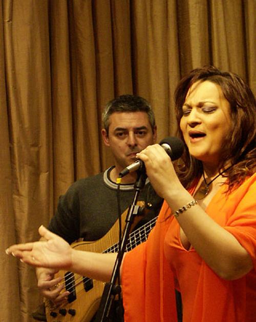 La Tana en concierto