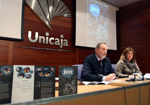 Presentación del I Ciclo Jazz con Unicaja