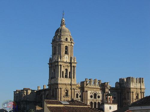fuera de Español besando cerca de Málaga