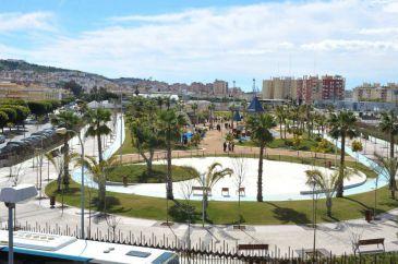 M laga ayer se inaugur el parque de la alegr a en el for Barrio ciudad jardin
