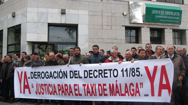 TAXISTAS DE MALAGA