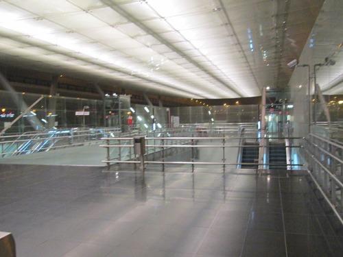 Estación del aeropuerto en Málaga