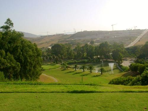Campo de golf en Estepona