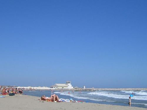 Playa Blancopino en Málaga