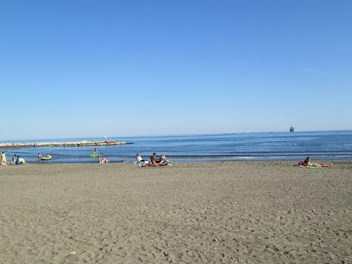 Playa de El Palo en Málaga