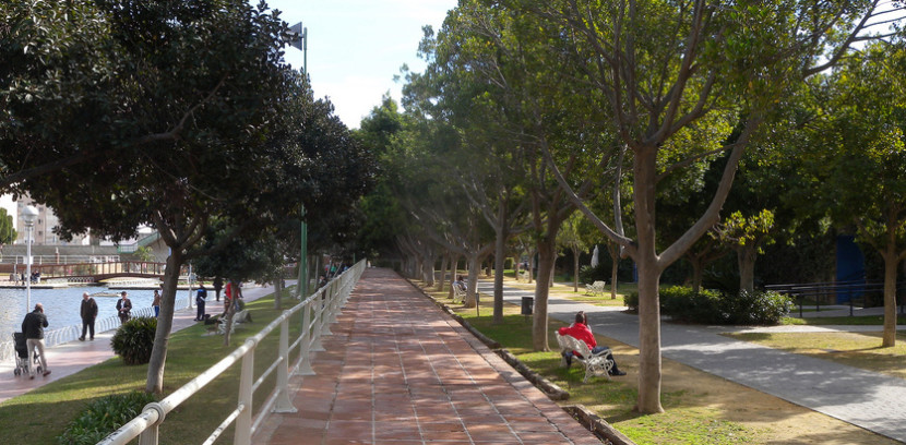 Parque en Málaga